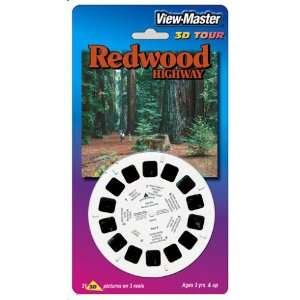 View Master 3D 3 Reel Card Redwood Highway Toys & Games