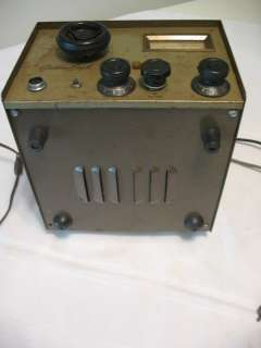 beautiful vintage golden eagle tubed ham radio receiver and