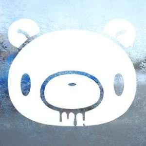 Gloomy Head White Decal ANIME Jdm Car Window Laptop White