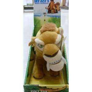 10 Plush Disney Ice Age 3 Dawn of the Dinosaurs, Diego