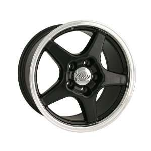 Detroit ZR1 Vette 841 Black Wheel (17x9/5x120.65mm
