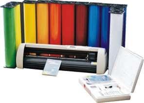 Vinyl Cutting Guides / Cutter / Sign Shop Dvd Training Tutorial