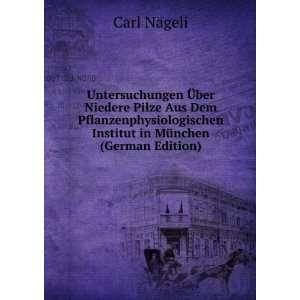 Institut in München (German Edition): Carl Nägeli: Books