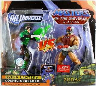 DC UNIVERSE MOTU CLASSICS GREEN LANTERN & ZODAC 7 ACTION FIGURE 2