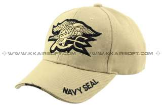 Navy Seal logo Baseball Cap Tan [CP 13 TAN] 01396