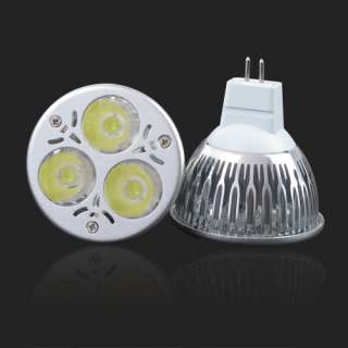 9W Mr16 3x3W Energy Saving Power Led Light Downlight Warm White Bulb