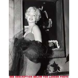 MARILYN MONROE BEAUTY GOING TO A PARTY (1) RARE 8x10 FINE