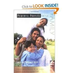 Powerful Prayers for Your Family David Kopp, Heather Kopp Books