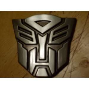 Original TRANSFORMERS Autobot Logo 3D Belt Buckle Optimus
