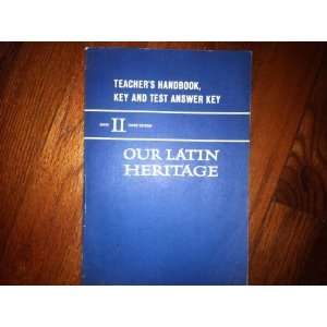 Handbook, Key and Test Answer Key (Book 2) Lillian M. Hines Books