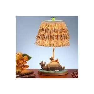 Disney Store Jungle Book Mowgli and Baloo Lamp EXCLUSIVE