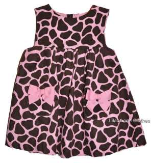 Glamour Giraffe Pink Hoodie Pants Romper Dress Shirt UPIK NWT 3 24 m