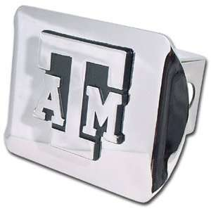 Texas A&M University Aggies Bright Polished Chrome with Chrome ATM
