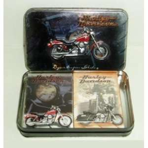 Harley Davidson Dyna Super Glide Motor Cycles Playing Cards 2 Deck Lot
