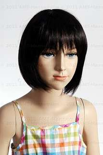Child mannequin manikin Abt 6 years old fiber glass girl manequin