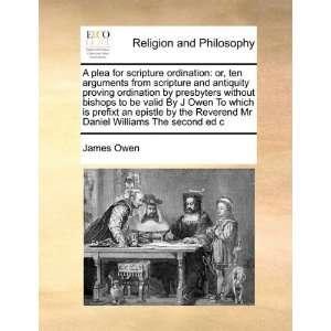 Mr Daniel Williams The second ed c (9781171399629) James Owen Books