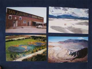 Lot Of 18 Vintage Unused Photo Postcards New Mexico