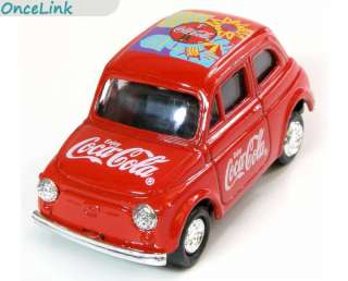 COCA COLA COKE Collectable Red Mini Metal Car Truck