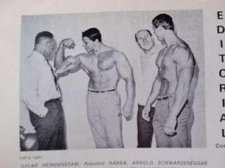 PEAK MUSCLE magazine/Arnold Schwarzenegger/Frank Zane/Dave Draper/Vol