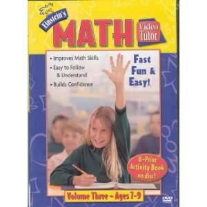 Math Video Tutor DVD: 3 (Video Tutor) (9781591253150): DVD