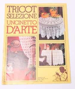 TRICOT SELEZIONE UNCINETTO D ARTE 1983