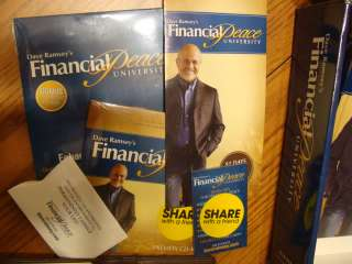 Dave Ramsey Financial Peace University Home Study Kit