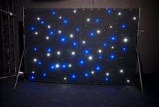 Sparkler Drape LED Mobile Backdrop Light + CH 31 Lighting Trussing