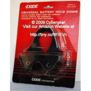 Exide Universal Battery Hold Down Clamp: Automotive