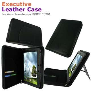 Executive Leather Case Cover for Asus Transformer PRIME TF201