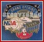 Orlando NBA CITY Grand Opening Hard Rock Cafe 1999 Lapel Hat GO Pin