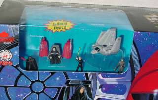 STAR WARS MICRO MACHINES ROYAL GUARD / DEATH STAR 2 TRANSFORMING SET