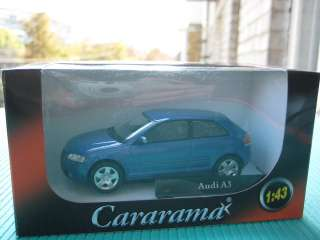 Audi A3 Cararama Diecast Collection Car Model 1:43 1/43