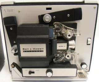 Bell & Howell Autoload Super 8 Vintage Movie Projector 461A Nice
