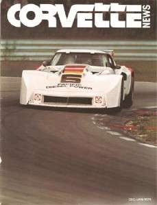 January 1979 Corvette News George Barris Greg Pickett Trans Am racing