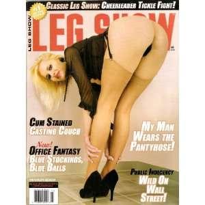 LEG SHOW MAGAZINE MARCH 2009: LEG SHOW: Books
