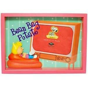 SALLY BEAN BAG POTATO shadow box frame is a special Peanuts