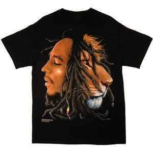 Bob Marley   Lion T shirt Everything Else