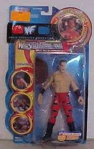 Chris Benoit Wrestling Figure WWF Rebellion Series