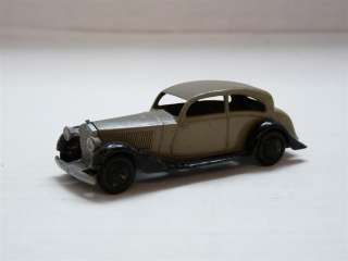 Dinky Toys Meccano 30b Rolls Royce Diecast Model Toy Car