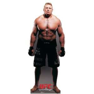 UFC Brock Lesnar Cardboard Cutout Standee Standup