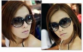 Korean Style Women Fashion Elegant Cool Sunglasses Black
