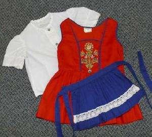 ORIGINAL ~ BABY GIRL German DIRNDL Oktoberfest Dress