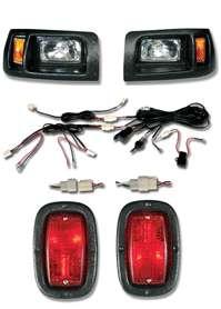QUALTIY LIGHT KIT for CLUB CAR DS w/BEZEL GOLF CART NEW