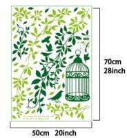 Green Ivy Vine Easy Wall Sticker Decal Deco Room   Green Ivy Vine