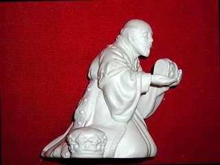 Avon White Porcelain Nativity Collectible Figurines~NIB