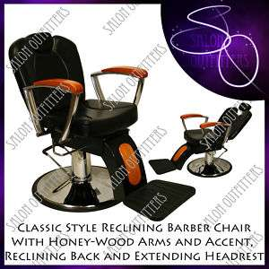 PROFESSIONAL HYDRAULIC BARBER CHAIR SALON EQUIPMENT NEW