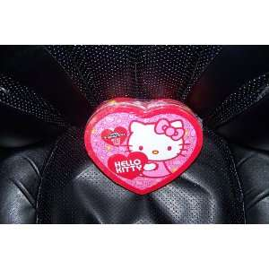 Valentines Day Hello Kitty Heart Shaped Tin with Candy Bracelets