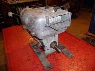 Vintage 1970 Ski Doo Olympic 399cc Bubblenose Engine with Electrical
