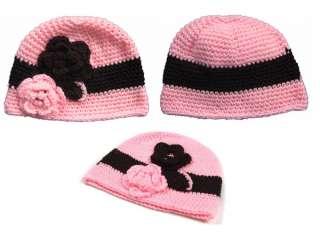New Spring Crochet Beanie Shell Hat for Baby Toddler Child Kids 5