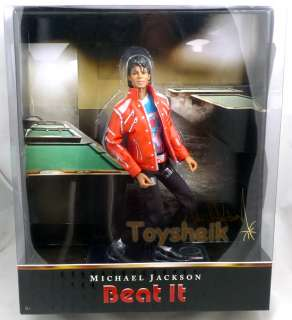Michael Jackson Beat It 10 inch doll Playmates 23023 043377223023